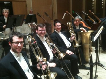 Gershwin concerts and recording session, BPO 2011 (myself, Tim Owner, Jeff Dee, Don Harry)