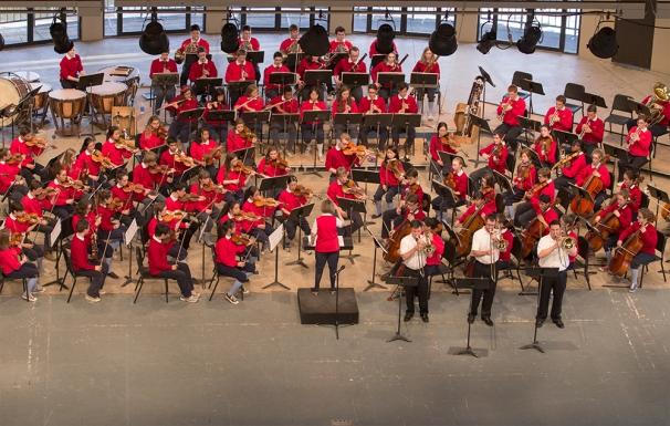 Ewazen Triple Concerto with Interlochen World Youth Orchestra, Jun 2013